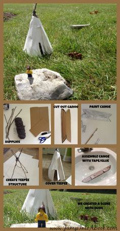 Discovering The Cree Culture in America-Wild Berries by Julia Flett Review & TeePee Making Activity!