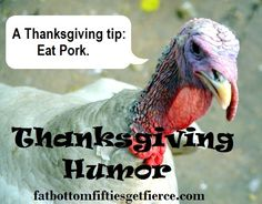 Thanksgiving Humor  -- have some good chuckles to begin the Weekend of Foodfest!