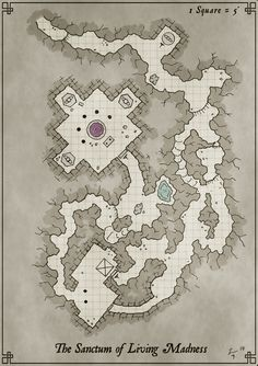 Hand drawn battle map; cleaned and colored in Gimp.  Free for personal use.