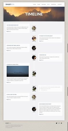 Timeline | Visual Inspiration | Pinterest | Timeline, Timeline ...