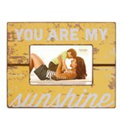 kohls sonoma life style you are my sunshine 4 x 6 frame