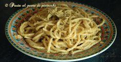 Un piatto dove il pistacchio, smeraldo siciliano, è protagonista ed esprime tutte le sue qualià gastronomiche