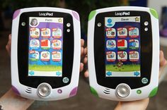 LeapFrog LeapPad Explorer tablet $99.  I love watching my 4 year old play with this and how excited he gets when he figures out new words or finishes a spelling game.  Great product and one of the 2012 EDUCATIONAL TOYS OF THE YEAR  Toys that help children to develop special skills and knowledge through play.   http://www.leapfrog.com/leappad/index.html