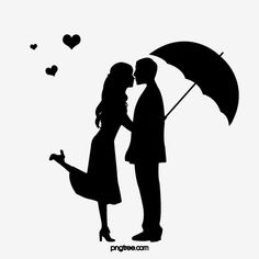 Couple Silhouette Figures Vector and PNG Silhouette Couple, Silhouette Pictures, Silhouette Painting, Black Silhouette, Silhouette Vector, Shadow Images, Shadow Pictures, Photo Cake Images, Couple Shadow