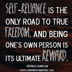 27 Best Self Reliance Quotes Images Thinking About You Thoughts