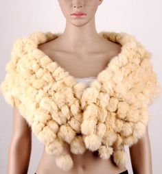 They say it is rabbit fur, but it looks like dead tribbles to me.
