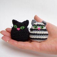 cat crochet pattern pdf, quick and easy amigurumi cat crochet pattern. $3.50, via Etsy.