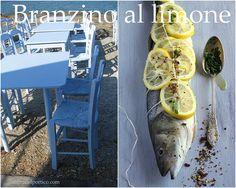 Branzino al limone