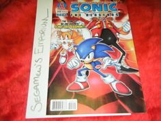 Sonic the Hedgehog - Issue #205 - NM - [SEGA Comic Archie] -- Check It & More Stuff Available for Purchase on www.eCRATER.com