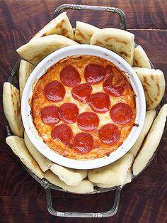 4 Layer Pizza Dip- yum!!