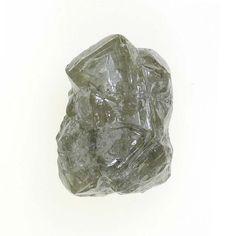 1.17 Ct Natural Silver Color Loose Rough Loose Diamond Congo-Coted