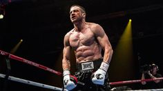 Wish I could get his abs!!!...Learning to box with Jake Gyllenhaal http://variety.com/2015/film/news/jake-gyllenhaal-teaching-boxing-southpaw-set-1201548376/…