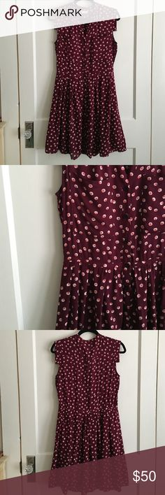 Anthropologie West Street Shirt Dress Tylho Very flattering. Buttons all the way down. Great for work, church, or to wear to a wedding. Worn once to a wedding. In great condition. Anthropologie Dresses Midi