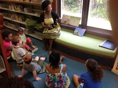 Here is one of the authors presenting Brave Little Dave in Caroline county library.