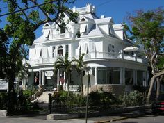My favorite place to stay-Curry Mansion in Key West, FL