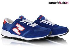 Niebieskie buty sportowe / Blue athletic shoes / 39,90 PLN #summer #sport #spring #shoes #athletic