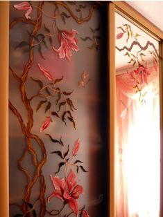 Роспись по стеклу - Наталья Хна