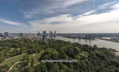 Rotterdam van boven; Euromast