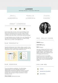 Media Kit template P