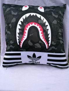 760d2cbaa3e A bathing Ape Camo 3 Stripes y3 Cushion Pillow supreme bape  fashion   clothing