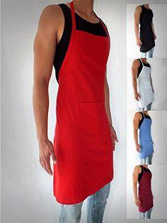 Schürze Kochschürze Latzschürze Gastronomie Grillschürze Küchenschürze (Rot) DWD-Company http://www.amazon.de/dp/B00GXBKKQO/ref=cm_sw_r_pi_dp_OGrKwb04HEHSP