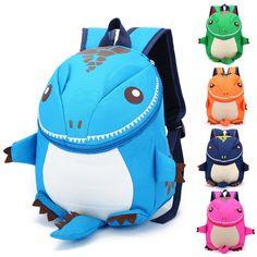 New 2017 Fashion Children School Bags Cartoon Minnie Kid Bag Dinosaur Backpacks Kindergarten Preschool Backpack Kids Mochila Mama Baby, Satchel Backpack, Backpack Straps, Mini Backpack, Baby Rucksack, Preschool Backpack, Cartoon Bag, Girl Cartoon, Boys Backpacks