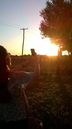 sunset farm foto : KP
