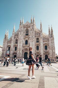 Explored Milan yesterday