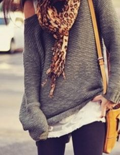 this makes me miss fall weather (casual country outfits scarfs)