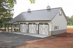 Morton Buildings garage in North Carolina.