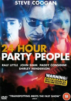 Image result for 24 Hour Party People movie poster