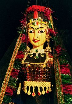 Kathputli Puppet Crafts, History Projects, Indian Art, Handicraft, Puppets, To My Daughter, Contrast, Characters, Culture