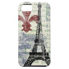 Eiffel Tower Vintage French iPhone 5 Covers