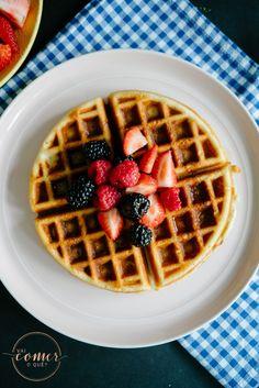 Waffles (Estilo Belga) - Vai Comer o Quê?