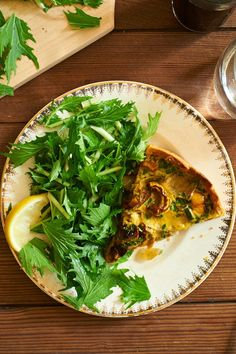Licking the Plate: A Most Custardy Quiche