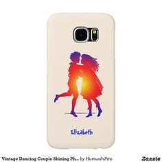 Vintage Dancing Couple Shining Phone Case Samsung Galaxy S6 Cases