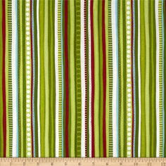 Online Shopping for Home Decor, Apparel, Quilting & Designer Fabric Pure Simple, Christmas Fabric, Striped Fabrics, Discount Designer, Shades Of Green, Accent Decor, Fabric Design, Card Stock, Sewing Projects