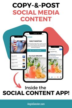 The Social Content App is designed for business entrepreneurs looking to get better results on social media. You get daily content done for you and ready to post inside this easy-to-use mobile app.