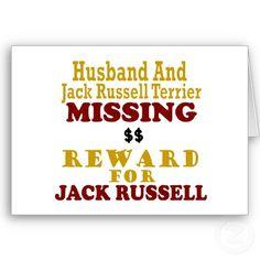 okay, small reward for husband too!