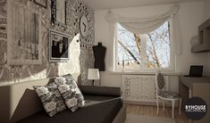 Curtains, Room, Home Decor, Bedroom, Blinds, Decoration Home, Room Decor, Rooms, Draping
