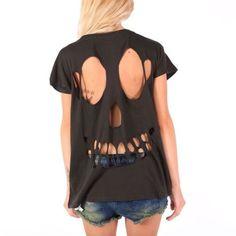 Iron-fist-Skull-Rocker-Black-Brand-New-Ladies-Top-Official-Merch