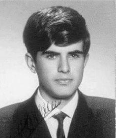 Lise yıllarında Tarık Akan #tarikakan #yesilcamsokagi