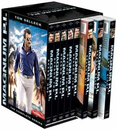 """Magnum P.I.: The Complete Series DVD ~ Tom Selleck, http://www.amazon.ca - I FELL IN LOVE WITH TOM SELLECK WATCHING """"MAGNUM""""."""