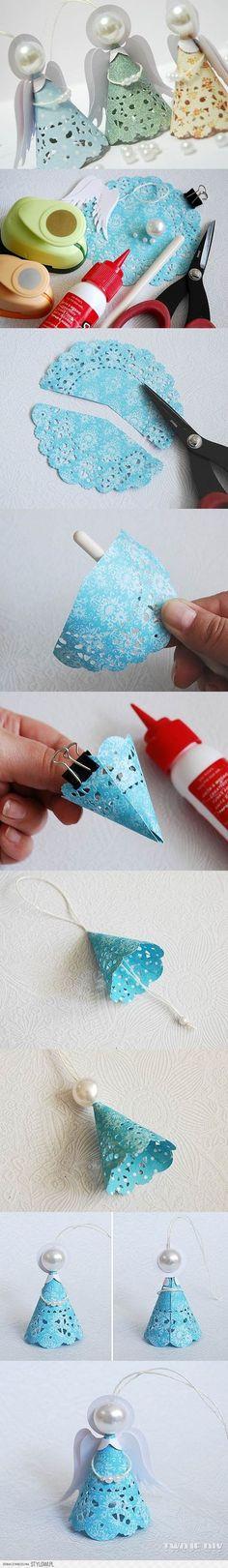 Poder nas mãos: Anjo Craft        Linda Laubach