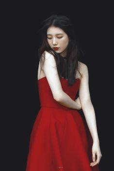 Selfies, Instagram Pose, Bae Suzy, G Friend, Korean Actresses, Korean Celebrities, Summer Outfits, High Neck Dress, Photoshoot