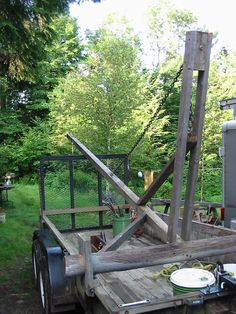 Timber Framing Tools, Lifting Devices, Survival Gadgets, Building A Cabin, Gantry Crane, Welding And Fabrication, Farm Projects, Roof Installation, Wood Structure