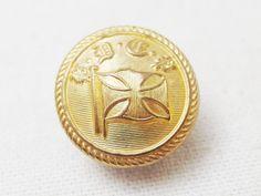 Harrison Lineの制服のボタンとして使われていたユニフォームボタンです。