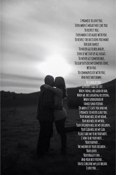 beautiful wedding vows