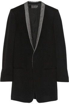 Haider Ackermann Veste en laine à col contrastant | NET-A-PORTER
