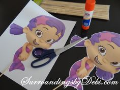 Bubble Guppies Birthday Party Decorations Centerpiece